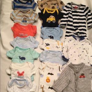 Lot of (16) Preemie Onesies